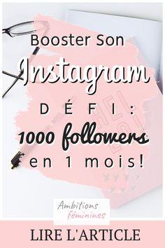 Instagram Marketing Tips, Instagram Tips, Instagram Feed, Social Media Tips, Social Networks, Social Media Marketing, Booster Instagram, Formulaires Web, Budget Organization