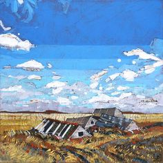 Justina is an artist based in Vermilion, Alberta. Acrylic Paintings, Will Smith, Cabin, Artist, Cabins, Artists, Cottage, Wooden Houses