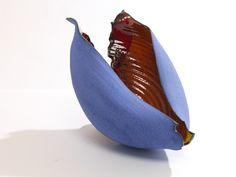 Scultura ciotola in ceramica design contemporaneo