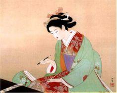 unknown title (Bijinga) - Uemura Shoen