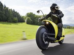 Johammer electric motorcycle (Credit: Johammer e-mobility GmbH) Electric Motor, Electric Cars, Electric Vehicle, Scooters, Peugeot, Steam Punk, Toyota, E Mobility, Self Esteem