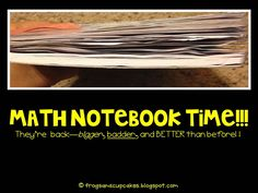 AWESOME Math Notebooking tips!