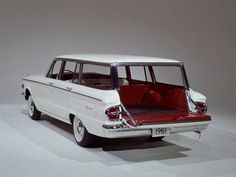 1962 Mercury Comet station wagon