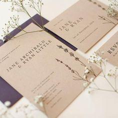 Mock up idea, product photoshoot, wedding invite, flowers Ryan Little, Little Jane, Kraft Paper, Wedding Invitations, Romance, Place Card Holders, Rustic, Flowers, Photography