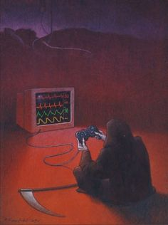 Polish artist Pawel Kuczynski has worked in satirical illustration since specializing in thought-provoking images that make his audience question their everyday lives. His subjects deal with … Satire, Sketch Manga, Satirical Illustrations, Political Art, Question Everything, Some Pictures, Thought Provoking, Dark Art, Amazing Art