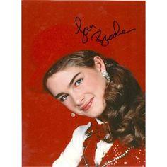 Autograph Warehouse 27717 Brooke Shields Autographed Photo 8 x 10, As Shown