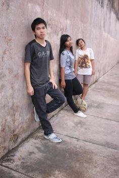 I and my friend at Taman Sari, Yogyakarta.