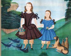 naive English folk art