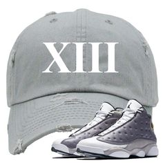 96aa0d923ad Get ready to match your pair of Jordan 13 Atmosphere Grey sneakers with  this essential hooks