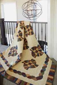 Prairie Wind Quilt Kit from QuiltandSewShop.com