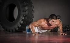 8 Minute Squat & Push-Up Tabata Workout For Fat Loss
