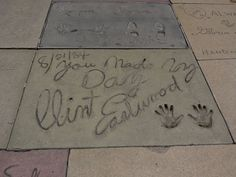 Grauman's Chinese Theatre Pictures: Clint Eastwood