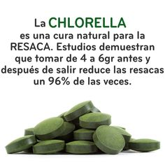 Beneficios de la chlorella Fit Food Spain
