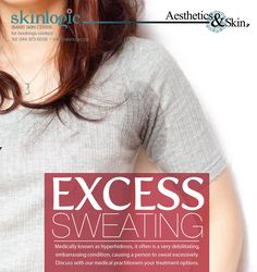 Excess #Sweating Medically known as #hyperhidrosis, it often is a very debilitating, embarrassing condition, causing a person to sweat excessively. Discuss with our #medical practitioners your #treatment options. #Aesthetics #body