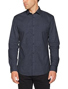 SELECTED HOMME Shdonenew-Mark Shirt LS Sts, Camisa Para Hombre