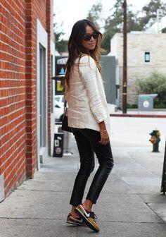 Women. Fashion. Summer. Sunglasses. Black White. Blazer. Linen. Leather. Dark. Nike. Sneakers. Minimal.