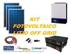 Kit Energía Solar Litio Off Grid 5kW Off The Grid, Kit, Solar Power, Off Grid