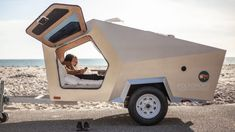 Small Camping Trailers Plans Elegant the Best Camper Trailers 5 to Right now Curbed Diy Camper Trailer, Tiny Camper, Off Road Trailer, Small Trailer, Off Road Camper, Small Camping Trailers, Trailer Tent, Camper Parts, Rv Campers