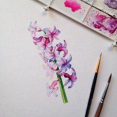 Watercolorist: @veverka83  #waterblog #color #акварель #art #paint #aquarelle #watercolor #drawing #painting