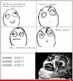 Gonna die - Other - Nov 28, 2011 - Rage Comics - Ragestache