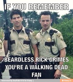 The Walking Dead. Shane and Rick (Jon Bernthal and Andrew Lincoln). Carl The Walking Dead, The Walk Dead, Walking Dead Tv Show, Walking Dead Funny, Walking Dead Zombies, Walking Dead Quotes, Andrew Lincoln, Norman Reedus, Twd Memes