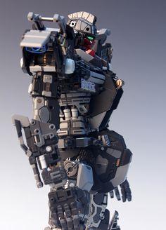 - Painted Build Modeled by RedBrick Strike Gundam, Robot Concept Art, Robot Action Figures, Custom Gundam, Gundam Model, 30th Anniversary, Legos, Model Kits, Mobile Suit