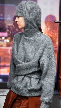Alexander Wang, Fall/Winter, 2013, via.models.com: Pushing the boundaries with Wool