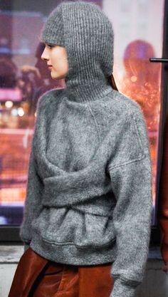Alexander Wang, Fall/Winter, 2013, via.models.com: Pushing the boundaries with Wool