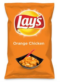 Wouldn't Orange Chicken be yummy as a chip? Lay's Do Us A Flavor is back, and the search is on for the yummiest flavor idea. Create a flavor, choose a chip and you could win $1 million! https://www.dousaflavor.com See Rules.
