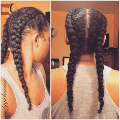 ***Try Hair Trigger Growth Elixir*** ========================= {Grow Lust Worthy Hair FASTER Naturally with Hair Trigger} ========================= Go To: www.HairTriggerr.com ========================= Super Cute Double Dutch Braids!!! Sometimes the Simplest Styles are the Cutest!!!