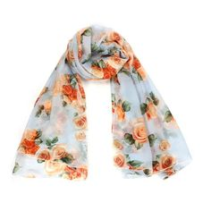 Rose Scarf Womens 2016 Fashion Voile Long Stole Scarves Shawl Scarf Ladies