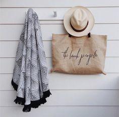 Summer essentials- our Amaroo and Jute bag via Amy Williams