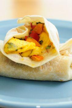 Weight Watchers Breakfast Burritos Recipe - 8 WW Points