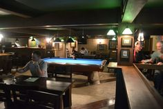 The Dubliner Sukhumvit 33 - Bangkok Irish Bar - Upstairs pool table - For blog check here http://live-less-ordinary.com/bangkok-expat/dubliner-sukhumvit-33-bangkok