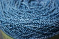 mood indigo - hand-dyed bamboo + cotton sock yarn