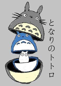 Tonari no Totoro: Totoro Matrioskas