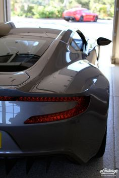 Aston Martin One-77 and Aston Martin Zagato