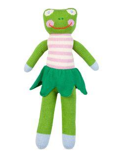 "18"" Niki Frog Doll"