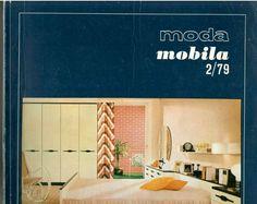 Romanian communist era furniture, interior design magazine MODA MOBILA 1979/2