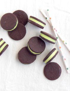 Oreos de menta: Miicakes