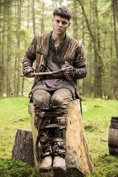 Alex Høgh Andersen, from Denmark as Ivar. | Ivar Ragnarsson or Ivar the Boneless as he was referred to, was a Viking Warlord and a man of exceptional cruelty and ferocity. He was the son of Ragnar Lothbrok and Aslaug Sigurdsdottir.