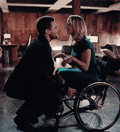 Pure cuteness | Oliver & Felicity #Olicity #Arrow 4x13