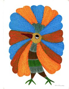 Gond Indian Art Hand
