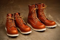 See the New Red Wing Heritage 875 and 877 Boots