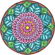 Mystical Mandala Coloring Book (Dover Design Coloring Books): Alberta Hutchinson: 9780486456942: Amazon.com: Books