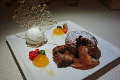 Ohhhh yeah. Banana passion fruit fondant - sakekasu-coconut puree, coconut sorbet, sesame sugar tuille at @aburirestaurants #MinamiYaletown #Vancouver #Yaletown #dessert