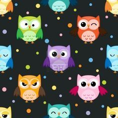 Free Printable Scrapbook Paper Owls | Paper, printable,