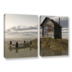 Locked Out by Cynthia Decker 2 Piece Graphic Art on Gallery-Wrapped Canvas Set