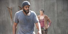 "chad coleman walking dead sea 4 | Fans of ""The Walking Dead"" comics were in for a treat Sunday if ..."