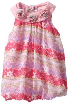 Little Lass Baby-girls Infant 1 Piece Bubble Creeper With Printed Flowers, Pink, 18 Months Little Lass. $11.00